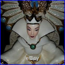Lenox Disney Snow White Evil Queen Court of The Wicked Queen NIB