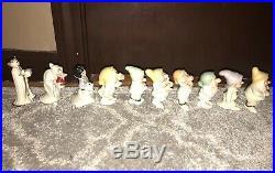 Lenox Disney Snow White & the Seven Dwarves Salt & Pepper Shakers Evil Queen Hag
