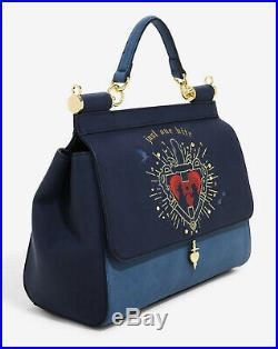 Loungefly Disney SNOW WHITE POISON APPLE CROSSBODY BAG Handbag Purse Evil Queen