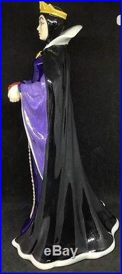 Ltd Ed Royal Doulton HN3847 Snow Whites Evil Queen Disney Villain Series