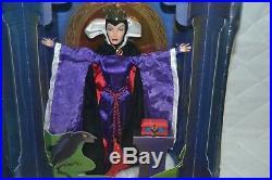 Mattel Evil Queen Limited Edition Doll Art of Snow White Biancaneve Grimilde