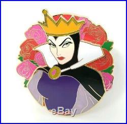 NEW Disney Villains Snow White & the 7 Dwarves Evil Queen POP Fantasy Pin LE 50