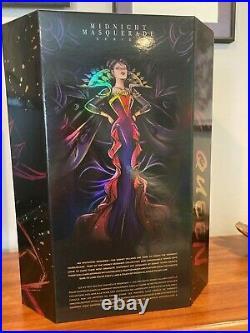 NEW Evil Queen Midnight Masquerade Disney Designer Doll LE Snow White