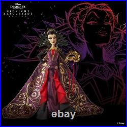 NEW Evil Queen Midnight Masquerade Disney Designer Doll LE Snow White IN HAND