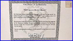 NEW RARE Disney pin Set Snow White Villain Evil Queen Framed Model Sheet #1648