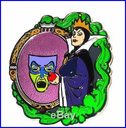 NEW RARE LE 125 Disney PinEvil Queen Villain Diva Snow White Magic Mirror Apple