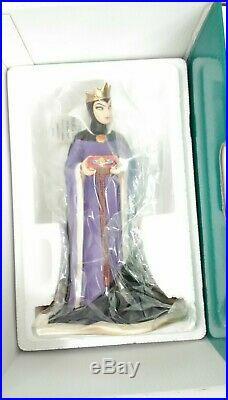 NEW! Walt Disney (WDCC) Snow White Evil Queen BRING BACK HER HEART NIB COA