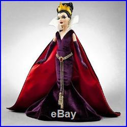 NIB Disney Store Limited Edition Snow White Evil Queen Designer Doll 7868/13000