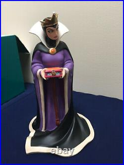 NIB WDCC EVIL QUEEN SNOW WHITE Bring Back Her Heart with COA