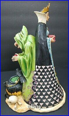 NO BOX Rare Jim Shore Walt Disney Showcase Snow White Evil Queen/Witch Wicked