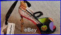 NWT Disney Parks Villains Evil Queen Runway Shoe Ornament Christmas Snow White