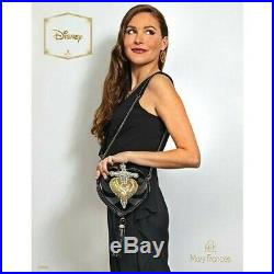 NWT Mary Frances Disney Snow White Evil Queen Heart Dagger Purse Bag