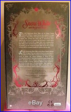 OLD HAG EVIL QUEEN witch D23 poupée DISNEY STORE edition limitée 723 SNOW WHITE