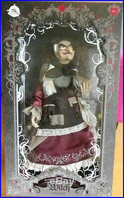 Old Hag Evil Queen Witch D23 Muñeca Disney Store Edition Limitada 723 Snow White
