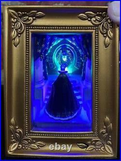 Olszewski Gallery of Light Disney Snow White Villain Evil Queen At The Mirror