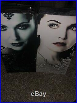 Once Upon a Time D23 Exclusive Evil Queen & Snow White AUTOGRAPHED Limited Dolls