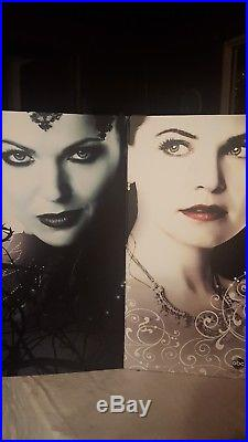 Once Upon a Time Evil Queen and Snow White D23 Expo 2015 Disney Store LE dolls