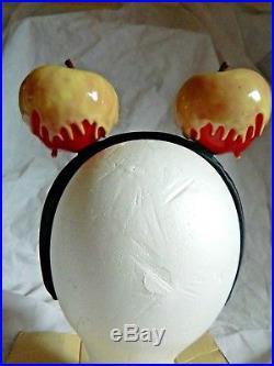 Poison Apple Disney Mickey Ears Snow White Seven Dwarves Evil Queen Halloween