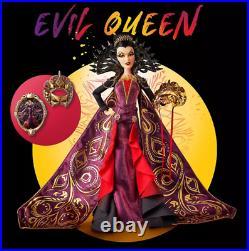 Pre-Sale Disney Designer Midnight Masquerade Evil Queen Doll