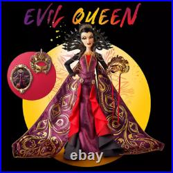 Pre-Sale Disney Designer Midnight Masquerade Evil Queen Doll Limited Edition