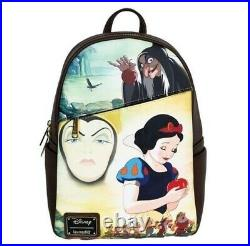 Preorder- Confirmed Loungefly Nwt Dec Snow White/evil Queen Backpack Exclusive