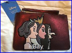 RARE D23 Exclusive Danielle Nicole Disney Snow White Evil Queen & Witch Clutch