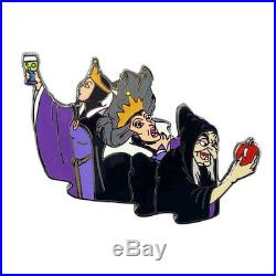 RARE PROTOTYPE Pin Disney Auctions COA Snow White Evil Queen Transformation
