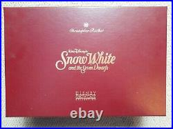 Radko Disney Snow White & 7 Dwarfs Hag Mirror Evil Queen Ornament Set 98-DIS-43