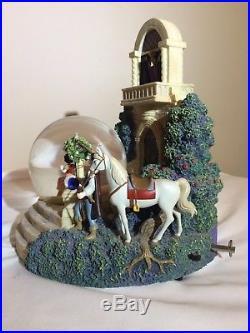 Rare Disney Villain Evil Queen snow globe with Snow White