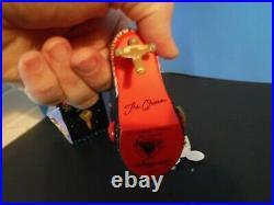 Rare Evil Queen Snow White Shoe Ornament Disney Villains Runway & Purse Ornament