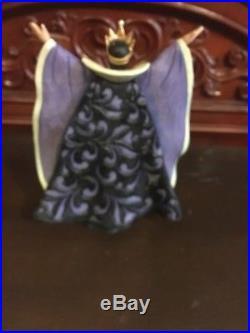 Rare Jim Shore Disney Traditions Evil Intentions Snow White Evil Queen Figure