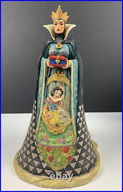 Rare Jim Shore Walt Disney Showcase Snow White Evil Queen/Witch Wicked in box