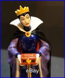 Royal Doulton 1998 Evil Queen Snow White Figurine NIB HN3847 L Ed 119/2000