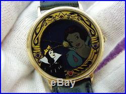 SNOW WHITE, Disney, RARE 1 of 750, Evil Queen's Magic Mirror, KIDS LADIES WATCH, C1