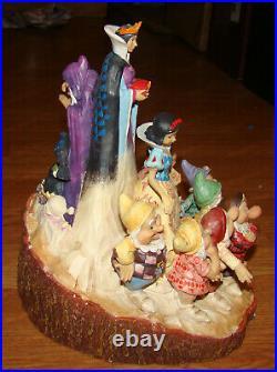 Snow White, 7-Dwarfs, Evil Queen Carved by Heart (Jim Shore 4023573) Disney