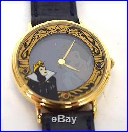 Snow White And The Seven Dwarfs Evil Queen Magic Mirror Watch LTD 750 Disney