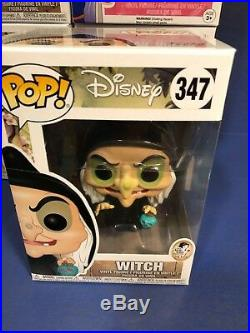 Snow White And The Seven Dwarfs Old Hag Witch/Evil Queen Funko POPS Set Of 10