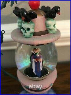 Snow White EVIL QUEEN Hanging Vine Water Globe Disney
