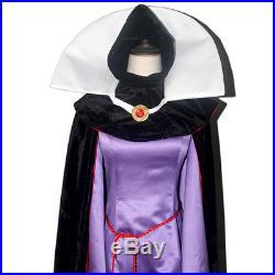 Snow White Evil Queen Dress Purple Cosplay Costume Custom Made Adults Halloween