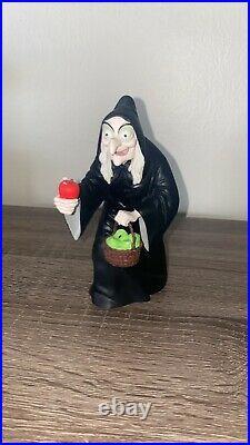 Snow White Evil Queen Figure Antique