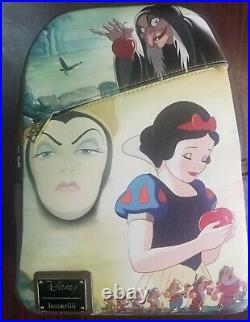 Snow White Evil Queen Loungefly Pink A La Mode Backpack