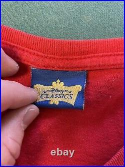 Snow White The Evil Queen 90's Vintage T-Shirt Onesize Rare Disney Villain Vtg