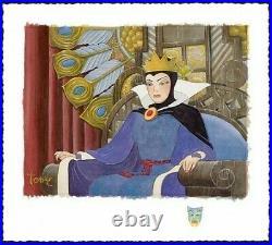 Toby Bluth Face Of Evil Deluxe Snow White Evil Queen Disney Fine Art