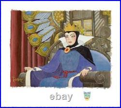 Toby Bluth Face Of Evil Snow White Evil Queen Disney Fine Art