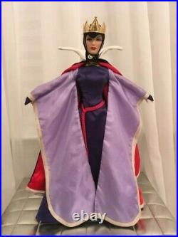 Tonner 16 Inches Disney Evil Queen Doll Snow White No Box