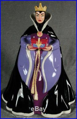 Treasure Craft Disney Snow White Evil Queen Cookie Jar