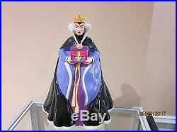 Treasure Craft Disney Snow White Evil Queen Cookie Jar Mib