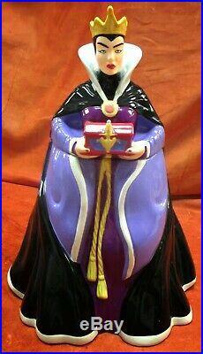Treasure Craft Disney Snow White Evil Queen Cookie Jar NEW