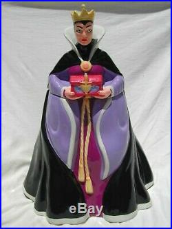 Treasure Craft Disney Snow White Evil Queen Grimhilde Ceramic Cookie Jar