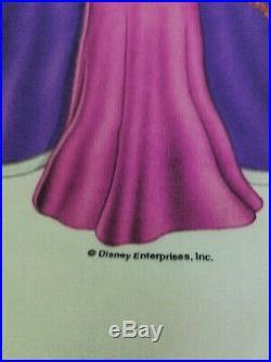 VTG Disney Villains Snow White and the Seven Dwarfs Evil Queen Shirt Movie Large